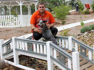 Pet Memorial Garden project completed