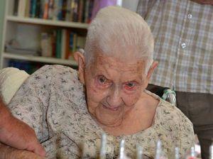 Margaret Schollich is celebrating a century