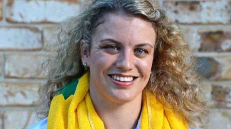 YOUNG AUSTRALIAN OF THE YEAR: Paralympian Jacqueline Freney pictured at her Skennars Head home.