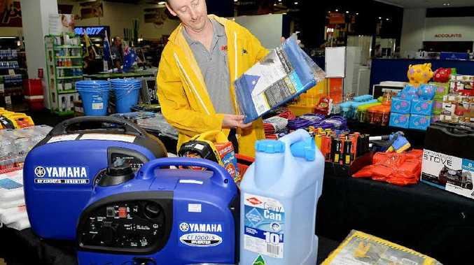 Porters Mackay city assistant manager Matthew O'Connor is prepared for this year's storm season.