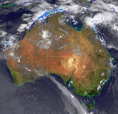 Tropical low looms near North Queensland.