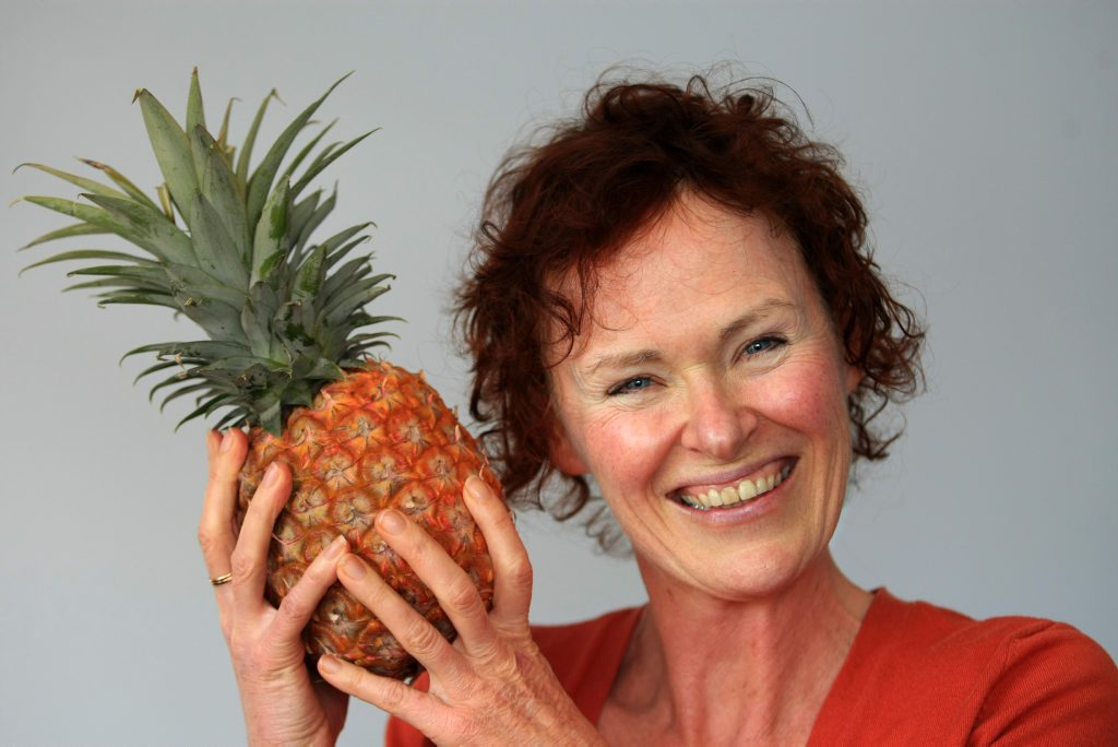 Olwen Anderson says the key to weight loss is to focus on food.