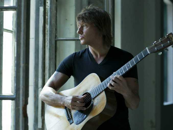Bon Jovi guitarist and solo artist Richie Sambora.