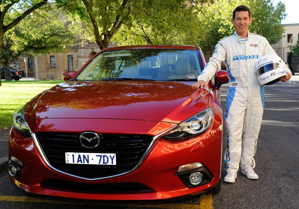 Robbie McEwen is set to join the Mazda3 celebrity race at the Australian Grand Prix.