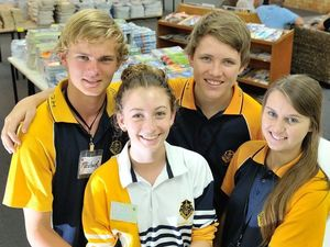 Gladstone SHS leaders discuss their vision of unity for the future