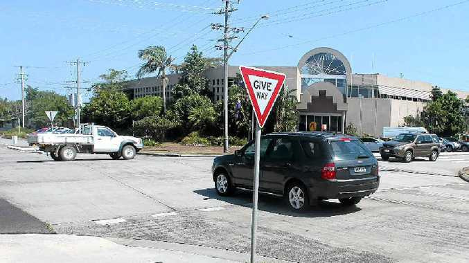 ROUNDABOUT NEEDED: There are renewed calls for a roundabout to be built at the busy intersection of Cherry and Tamar Sts in Ballina.