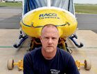 BUSY YEAR: RACQ-CQ Rescue air crewman and base manager Mark Donovan loves his job.