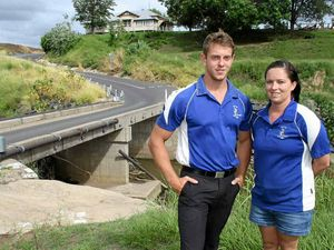 Swim school workers save cyclist from drowning