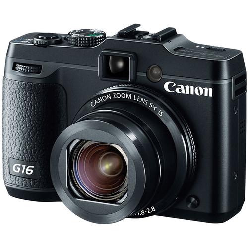 Canon's Powershot G16 camera.