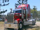 Truck of the Show at the 2013 Mullumbimby Truck Show: Herne's Freight Service's 2013 Kenworth 909