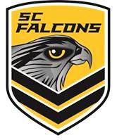 The new logo for the Sunshine Coast Falcons