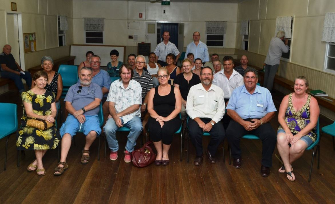 Attendees at last week's meeting at Lowood CWA Hall