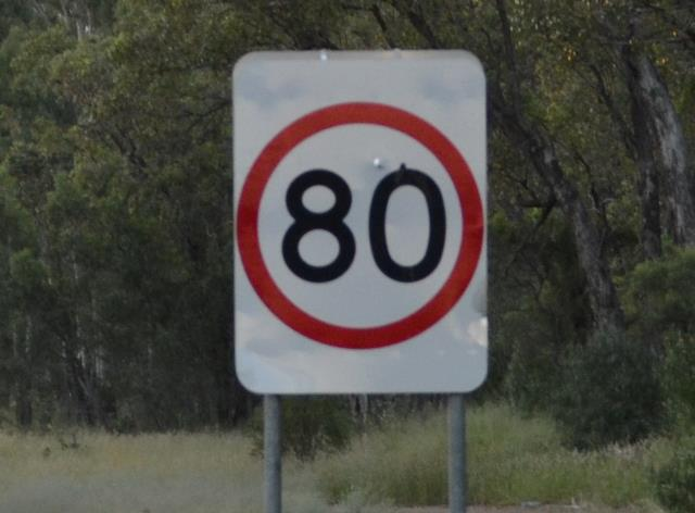 The new 80kmn speed limit on the Pacific Hwy at Tyndale comes into effect today.