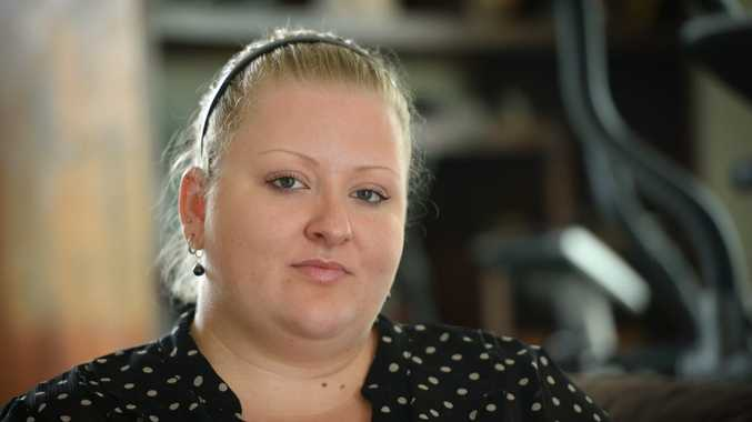 Stacey Blackman has been looking for work since August. Photo Allan Reinikka / The Morning Bulletin