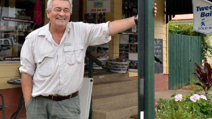 Borumba Fishing business proprietor Graeme Rummler.