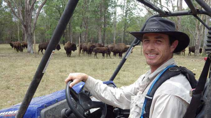 LEAN MEAT: Damen Wells from Myrtle Creek believes there is a healthy future in bison beef.