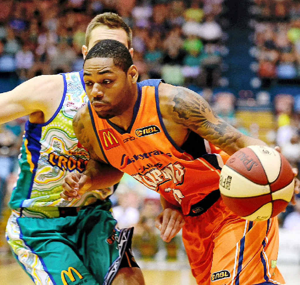 American Demetri McCamey has been a star for the Cairns Taipans this season in the NBL.