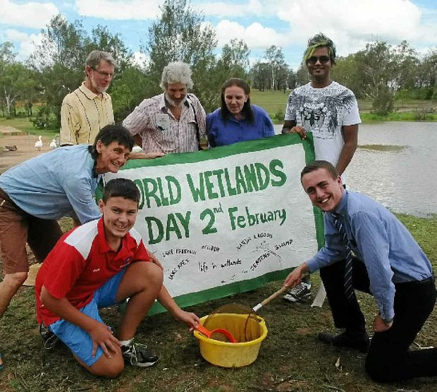 ECO VISTA: Friends of Lake Apex are hoping people will use World Wetlands Day on Sunday to visit the lake or other nature reserves.