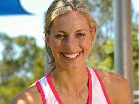 Aussie netball captain Laura Geitz.