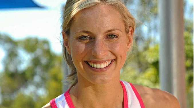 READY: Australia netball captain Laura Geitz is gearing up for this year's Commonwealth Games.