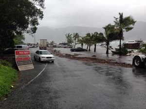 Shute Harbour - King tide
