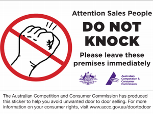 Your rights when it comes to door-to-door selling