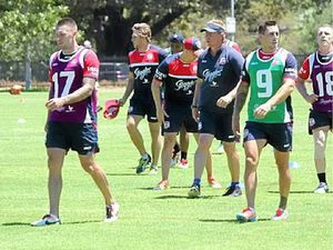 Roosters prepare for their title defence
