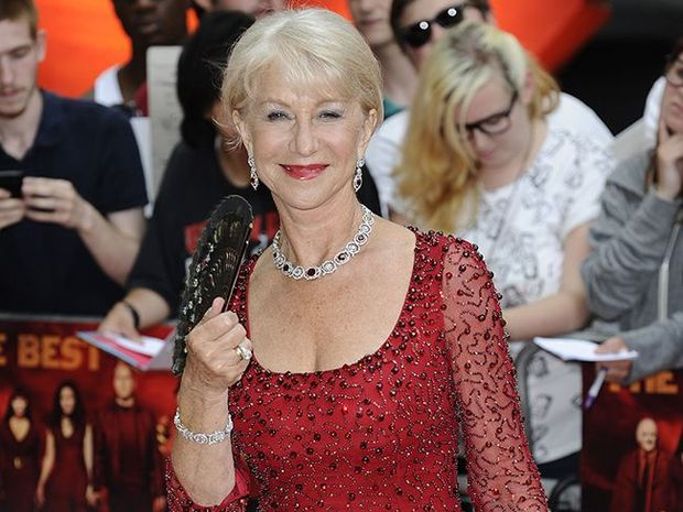 Dame Helen Mirren is happy she waited until she was 52 before tying the knot with Taylor Hackford and believes