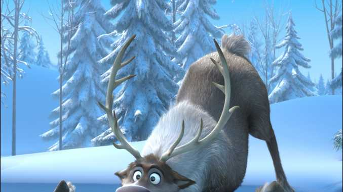 Still from Disney's enormous animated hit Frozen