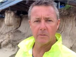 Great Keppel Island is hit by big seas, causes big damage