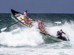 Seaweed soup sours surfboat saftey