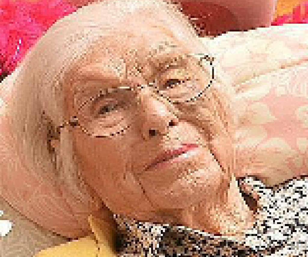 LONG LIFE: Daphne Burton.