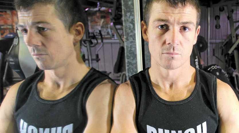 STEPPING UP: Brett W Smith will take on Mexican Fermin De Los Santos at Brisbane's Mansfield Tavern on March 8.