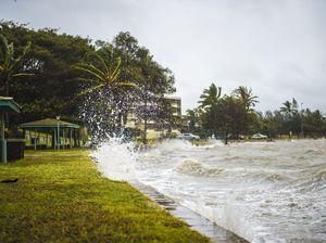 King tide in Gladstone region