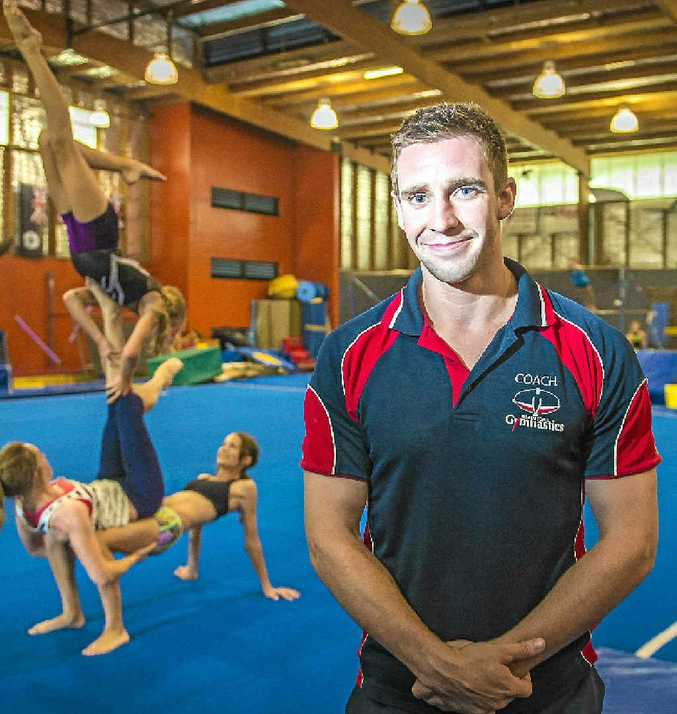David Capill of Gladstone Gymnastics Club is this week's Monday Male.