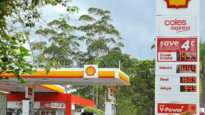 WORTH THE TRIP: Petrol prices are significantly lower at the Shell Coles Express service station on Nambour Connection Rd, Nambour, than most other Sunshine Coast locations.