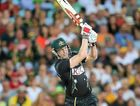 CAPTAIN'S KNOCK: George Bailey in action against England in Sydney last night.