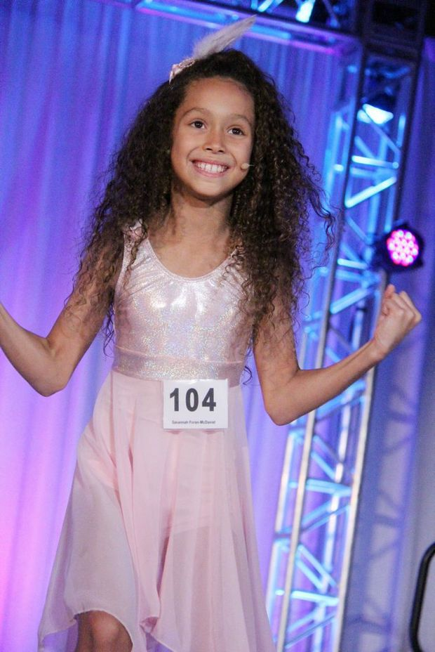 Savannah Foran-McDaniel, 8, dancing in Orlando. Photo Contributed