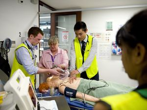 Med students of UQ's Rural Clinical School