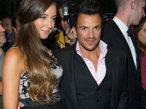 Peter Andre announces baby daughter's name