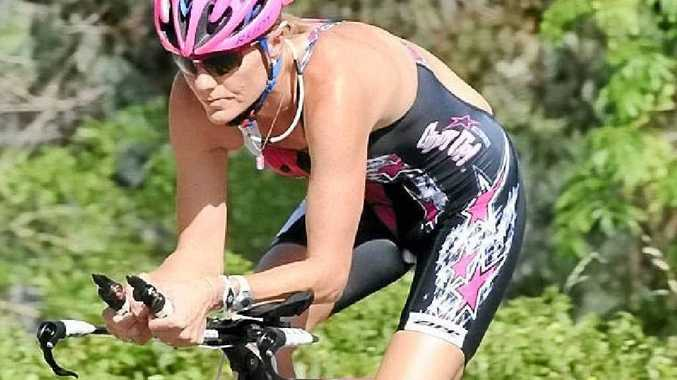COMEBACK: Two decades after her last appearance, Michellie Jones will be the star turn at the BCU Coffs Tri on March 2. CONTRIBUTED