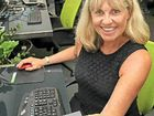 Jeanne Moloney-Nicholls of ThinLinX with a TLX 1000.