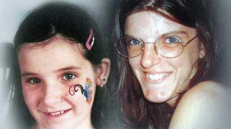 Melanie Perks and her daughter Ebonie.