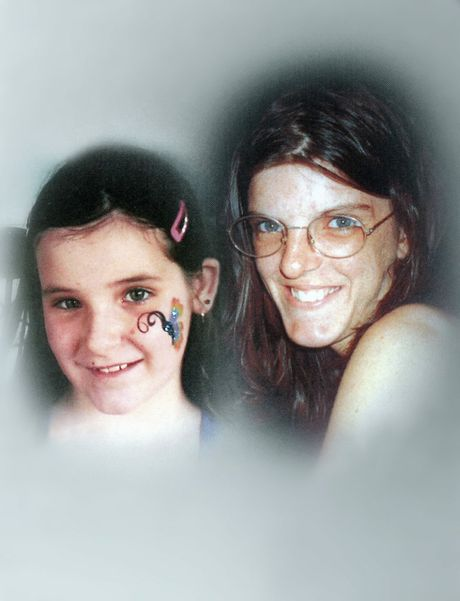 Melanie Perks and her daughter Ebonie.