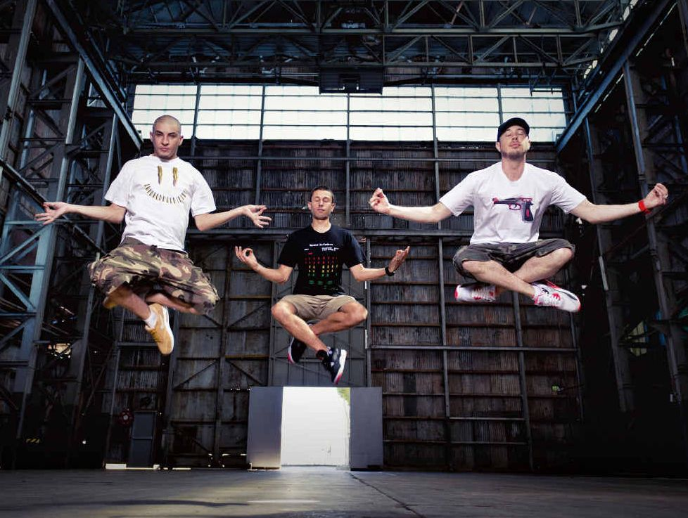 HOP TO IT: Bliss n Eso will be performing on April 25 at Stadium Mackay.