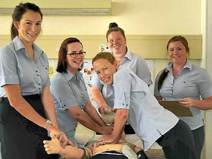 Gladstone Hospital welcomes five graduates to its wards