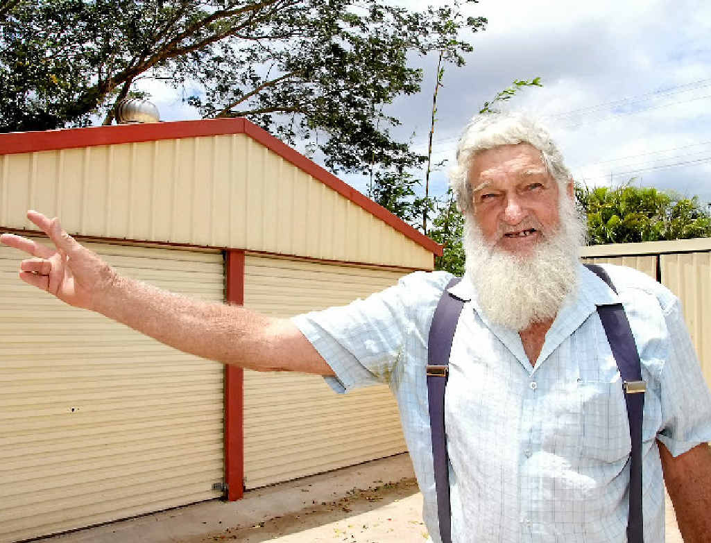 BOYS CLUB: Lachie McConnell is excited by the newly-formed Childers Men's Shed, offering men a place to chat and have a cuppa.