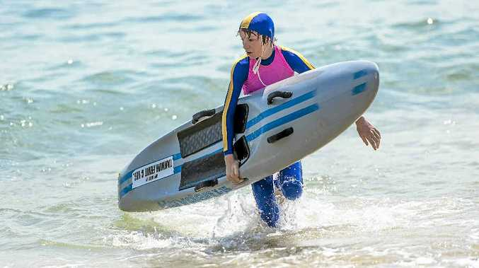 Tannum Sands Under-14 Nipper Shaun Iddon competing at his beach is part of a large contingent heading to Hervey Bay on Friday.
