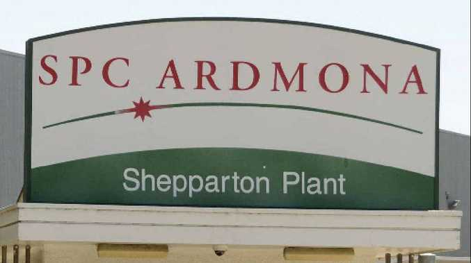 PROUD HISTORY AT RISK: The SPC Ardmona factory in Shepparton, Victoria.