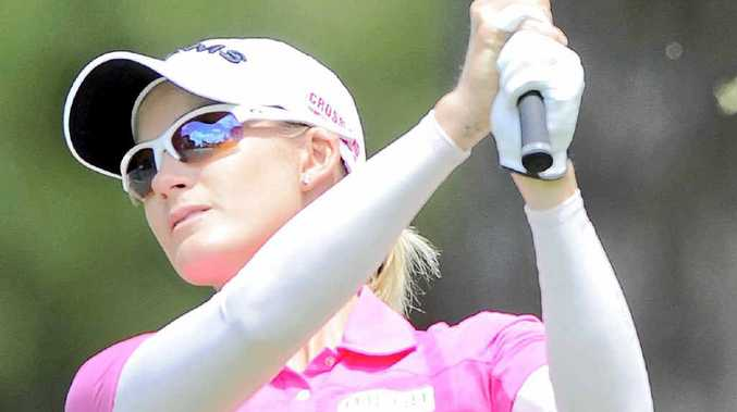 HIGH HOPES: The Coast's Sarah-Jane Smith will tee off at Royal Pines today.